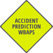An accident prediction icon.