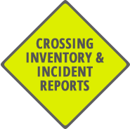 Crossing inventory icon.