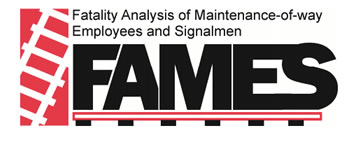 Image result for fames fatality analysis maintenance-of-way employees and signalman